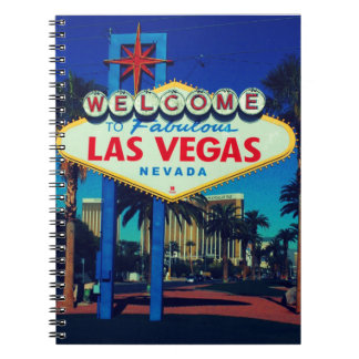 Las Vegas Sign Notebooks