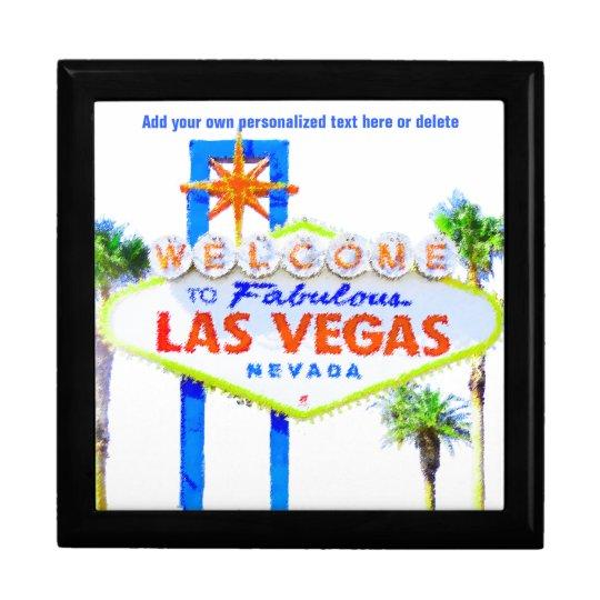 Las Vegas Sign on The Strip Gift Box