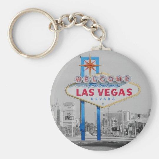 Las Vegas Sign Retro Keychain