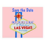 Las Vegas Sign Save the Date