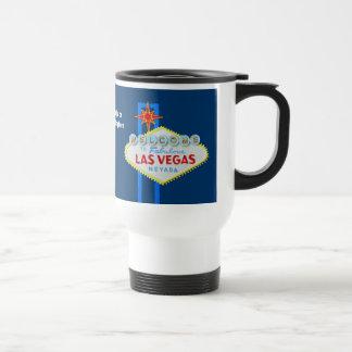 Las Vegas Sign Souvenir Stainless Steel Travel Mug