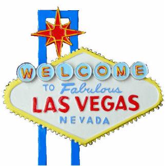 Las Vegas Sign Standing Photo Sculpture