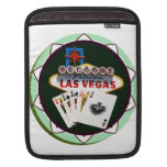 Las Vegas Sign & Two Kings Poker Chip Sleeves For iPads