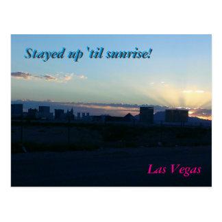 Las Vegas Silhouette - Post Card