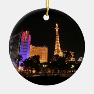 Las Vegas Skyline Christmas Ornament