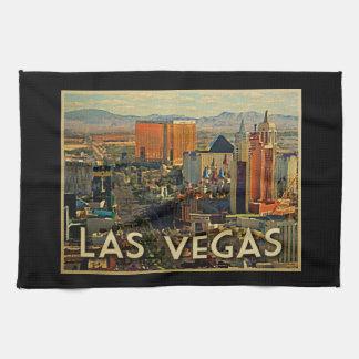 Las Vegas Skyline Tea Towel