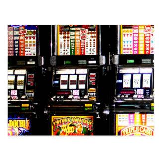 Las Vegas Slots Dream Machines Post Cards