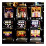 Las Vegas Slots Dream Machines Poster
