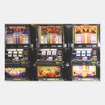 Las Vegas Slots - Dream Machines Rectangle Stickers