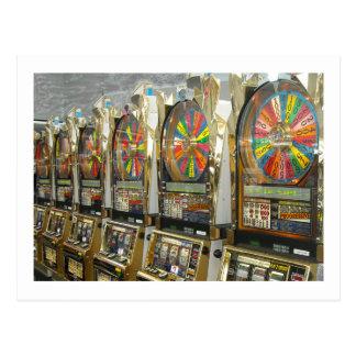 Las Vegas Slots Post Cards