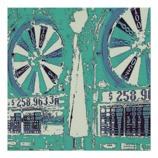 Las Vegas Slots Print