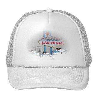 Las Vegas Snowmen Christmas Hat! Add your own text