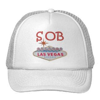 Las Vegas SOB Cap Trucker Hats