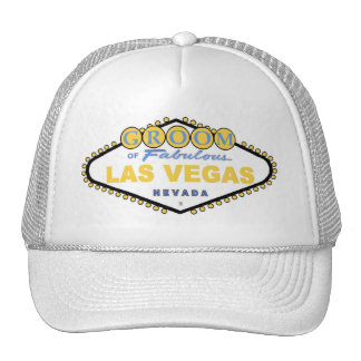 Las Vegas Spring GROOM Cap Mesh Hats