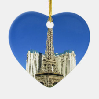 Las Vegas strip 4 Ceramic Heart Decoration