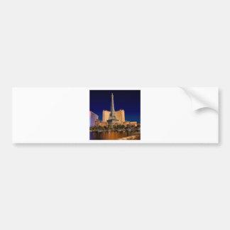 Las Vegas strip 5 Bumper Sticker