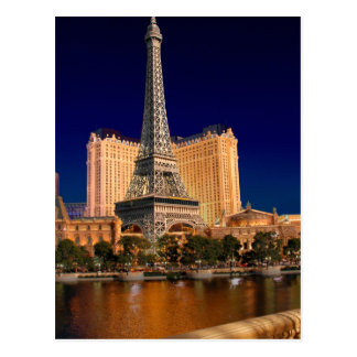 Las Vegas strip 5 Postcard