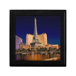 Las Vegas strip 5 Small Square Gift Box