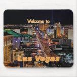 Las Vegas Strip at Night Mousemat