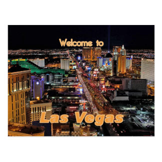 Las Vegas Strip at Night Postcards