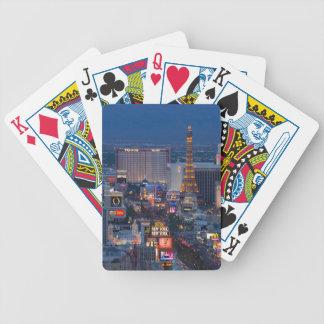 Las Vegas Strip Bicycle Playing Cards