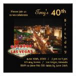 Las Vegas Strip Birthday Party Invitation