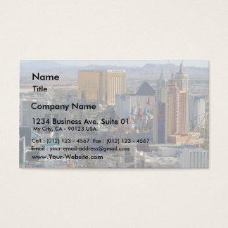 Las Vegas Strip Business Card