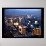 Las Vegas Strip December 2011 Poster