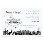 Las Vegas Strip | Las Vegas Wedding Invitation