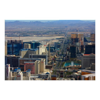 Las Vegas Strip Nevada Photo Poster