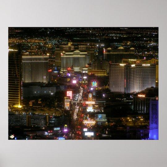 Las Vegas Strip Poster Print