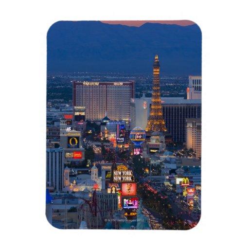Las Vegas Strip Rectangular Magnet
