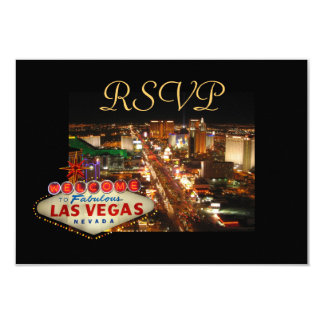 Las Vegas Strip RSVP cards