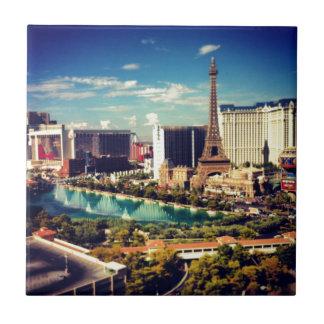 Las Vegas Strip View Tile