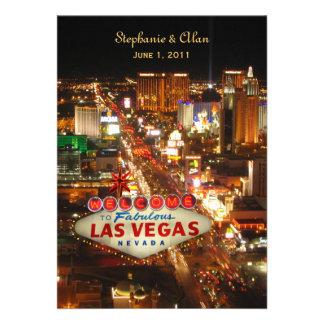 Las Vegas Strip Wedding Invitation
