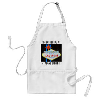 Las Vegas Strip Welcome Sign Aprons