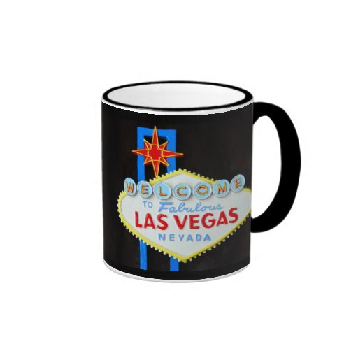 Las Vegas Strip Welcome Sign Souvenir Mug