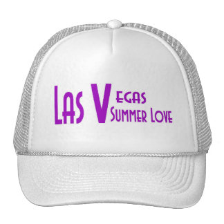 Las Vegas Summer Love Cap Mesh Hat