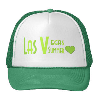 Las Vegas Summer Love Cap Trucker Hat