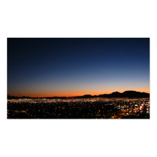 Las Vegas Sunset Double-Sided Standard Business Cards (Pack Of 100)