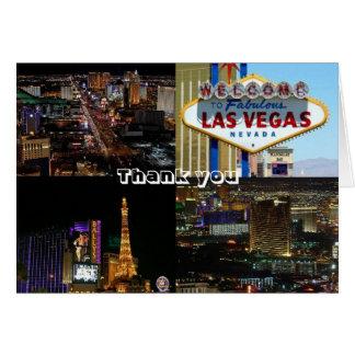Las Vegas Thank you Card