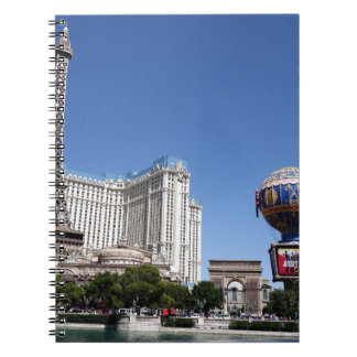 Las Vegas The Beach Tower Landscape Blue Day Note Books