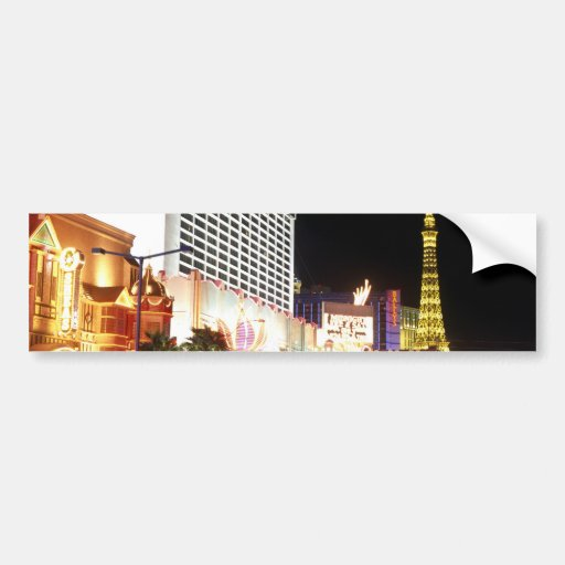 Las Vegas The Strip Bumper Stickers