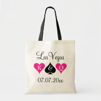 Las Vegas theme wedding tote bags for bridesmaids
