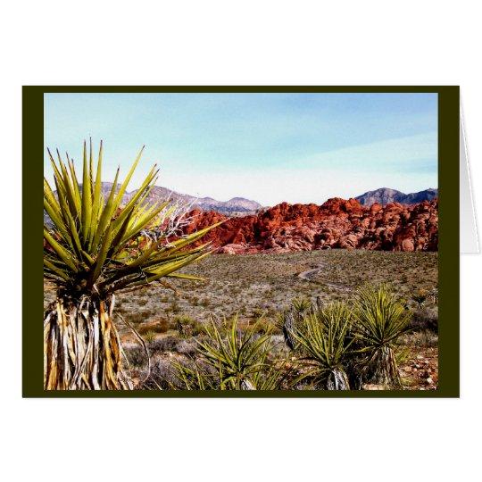 Las Vegas Tours: Red Rock Canyon Card
