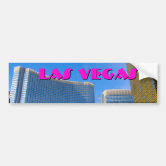 Las Vegas Towers Car Bumper Sticker
