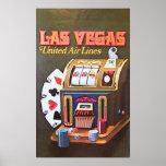 Las Vegas (United Air Lines) Posters