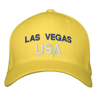 Las Vegas USA Embroidered Hat