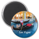 Las Vegas Venice gondoliers magnet