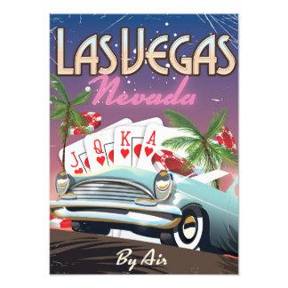 Las Vegas vintage style vacation poster Art Photo